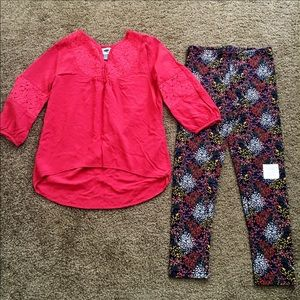 NWT Old Navy Girls' Sz 8 Outfit